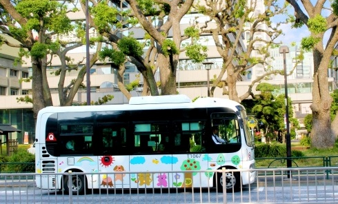 Wワーク大歓迎★一日3時間の短時間仕事★送迎ルートバス運転手業務風景